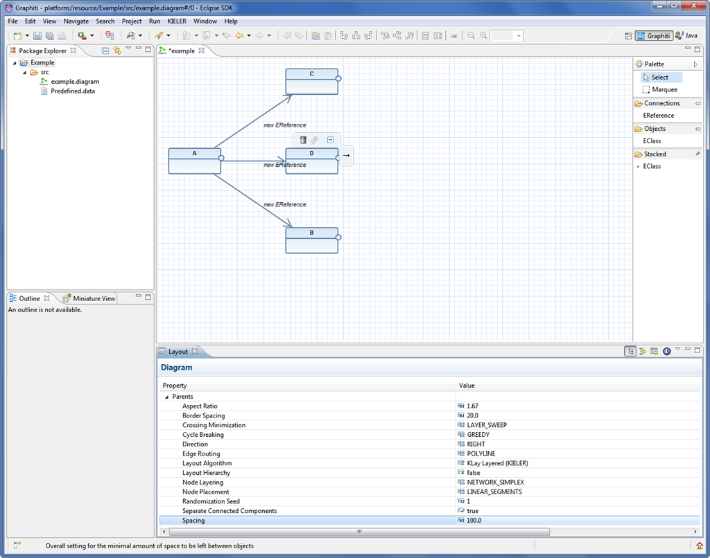 Class Diagram after adjusted layout